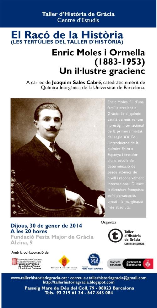 Poster Enric Moles