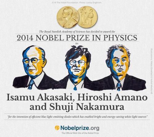 Nobel fisica 2014