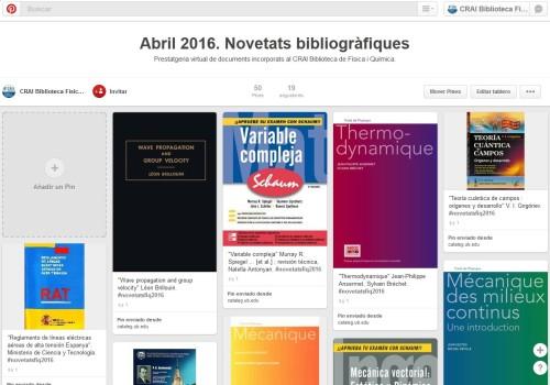 Pinterest abril
